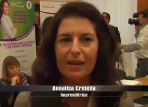 ANNALISA CRETELLA DURANTE CONFERENZA STAMPA OPEN DAY DONNA
