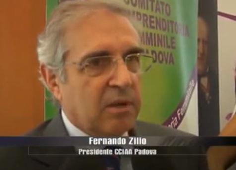 FERNANDO ZILIO DURANTE CONFERENZA STAMPA OPEN DAY DONNA