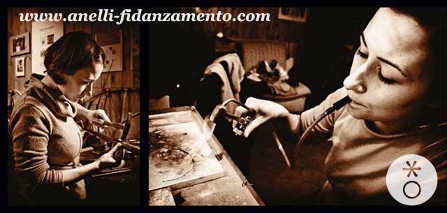 Eva Franceschini tempo creazione anello di fidanzamento