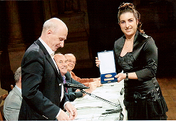 Premiazione Chiara Nardon