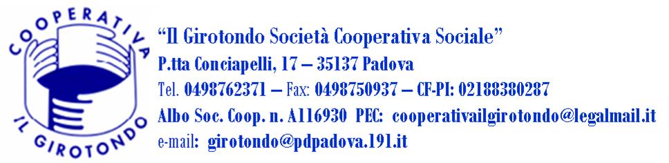 cooperativa Girotondo 2013