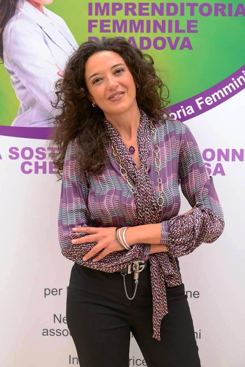 Stefania Brogin, Presidente del Comitato Imprenditoria Femminile di Padova