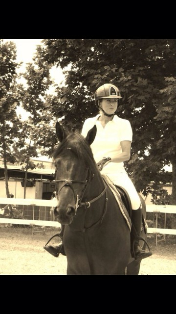 luise silvia a cavallo