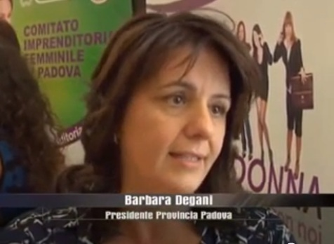 BARBARA DEGANI DURANTE CONFERENZA STAMPA OPEN DAY DONNA