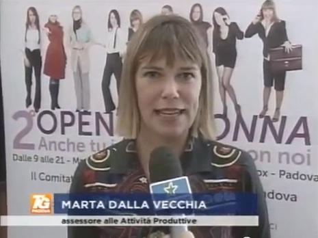 Marta Dalla Vecchia Assessore Commercio Comune di Padova