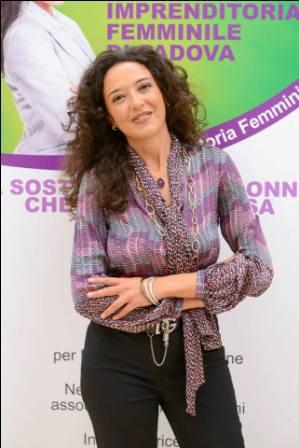 foto stefania brogin presidente comitato imprenditoria femminile camera di commercio di padova