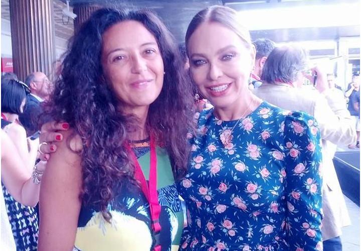 Stefania Brogin e Ornella Muti ExpoExpress - ExpoTrain