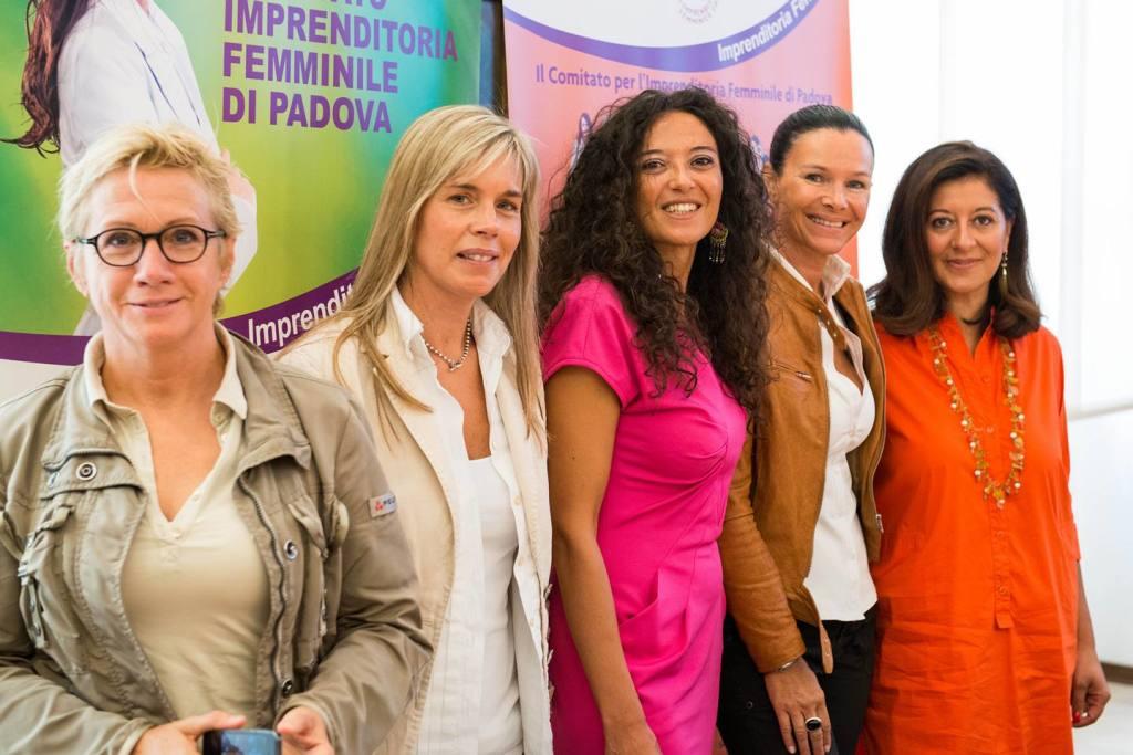 imprenditrici del comitato imprenditoria femminile padova