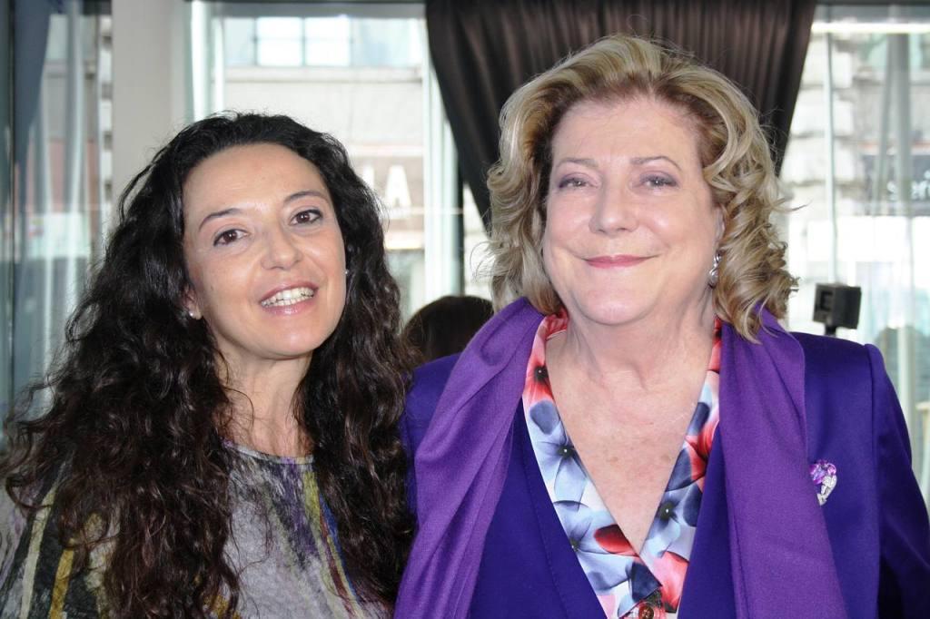 Stefania Brogin e Diana Bracco